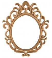 Masifart Maxine Majestik Ayna Cilasız Ham Ahşap 8588
