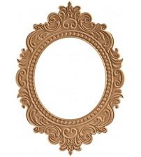 Masifart Muriel Misket Ayna Cilasız Ham Ahşap 8643