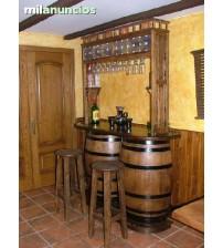 Masifart Şarap Fıçısından Yarımay Amerikan Bar