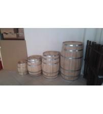 Masifart Meşe Ahşap Şarap Fıçıları 70 cm